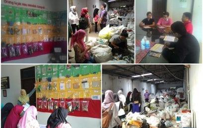 Belajar Mengolah Sampah bersama Bank Sampah Bersinar