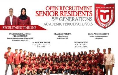 [OPREC] Senior Residents V, Wadah untuk Mengabdi dan Menempa Diri