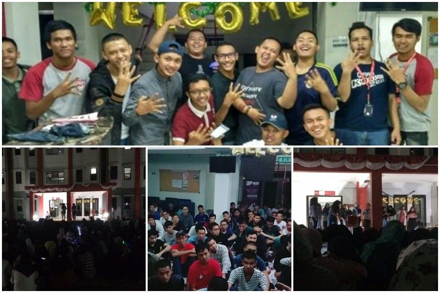 Menyambut Penghuni Baru 2017/2018 dalam acara Welcoming Event