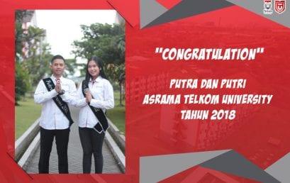 [CONGRATULATION] Putra dan Putri Asrama Telkom Univeristy 2018