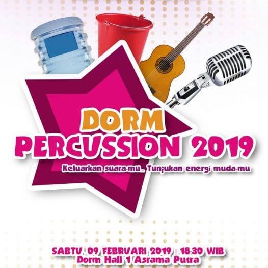 Dorm Percussion Part 2 2018/2019