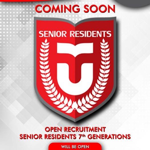[COMING SOON] OPEN RECRUITMENT SENIOR RESIDENTS ANGKATAN K-VII